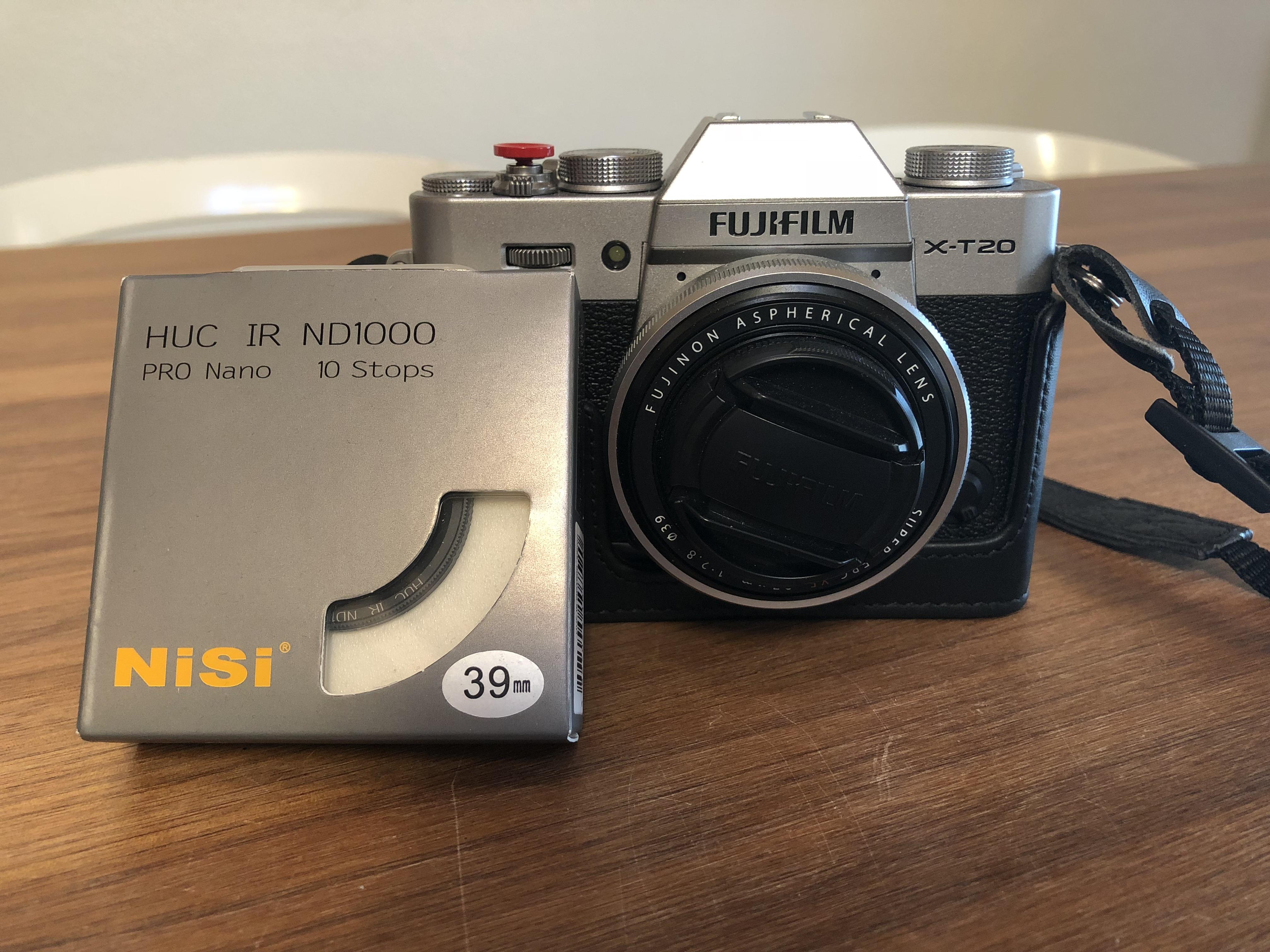 Ott Wyss Ag Fototechnik Fujifilm Mirrorless Camera X T20 1650 Bk Fuji Xt20 Inkl Xf 27mm 28 Und Halfcase