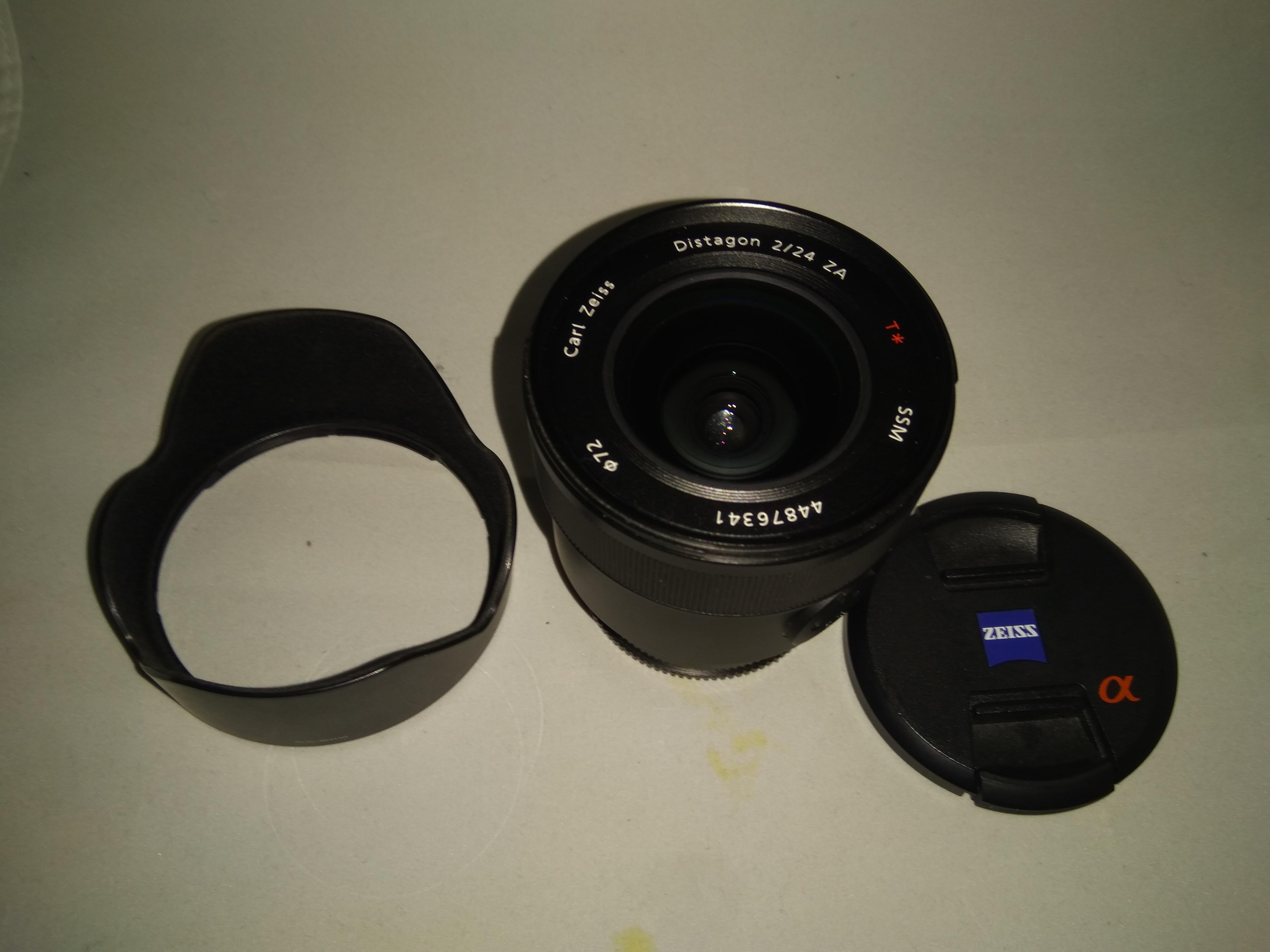Ott Wyss Ag Fototechnik Canon Eos 6d Kit 24 105mm F 40l Is Usm Wifi And Gps Sony Zeiss Distagon T 24mm F2 Za Ssm